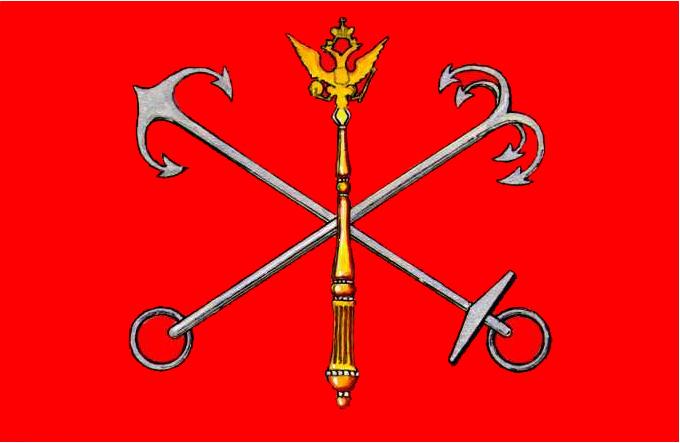 флаг спб