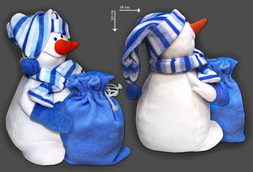 Мягкие игрушки как упаковка для подарка 989